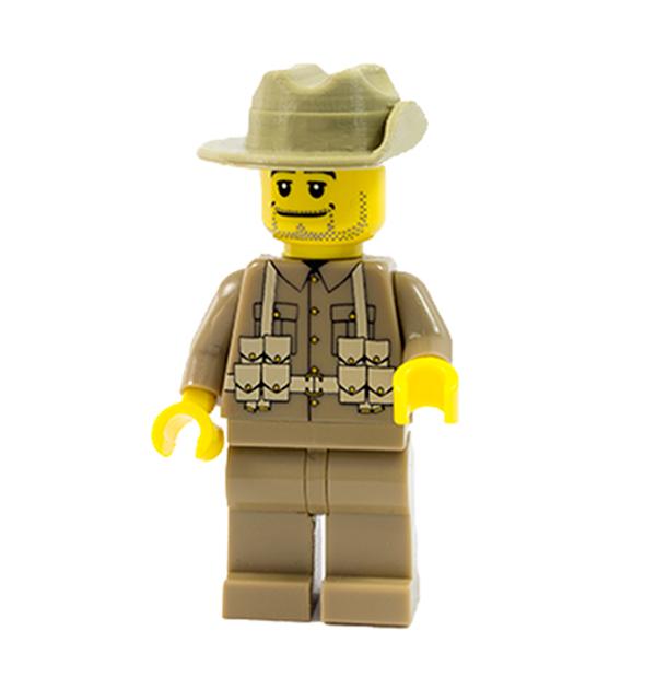 Ww1 Australian Slouch Hat Minifig Battlefields